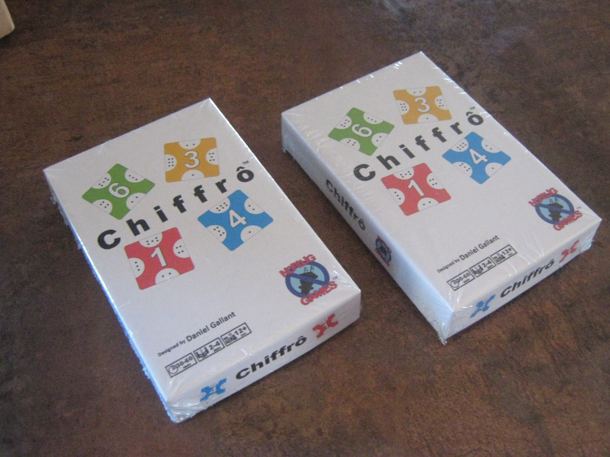 Chiffrô news and improvements from The GameCrafter
